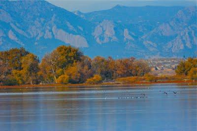 Barr Lake State Park, Colorado. Photo: colorado-lifestyle.blogspot.com