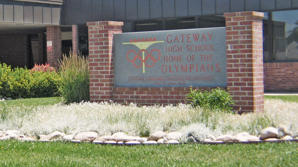 Gateway High School (Photo: Twitter, @strangeye)