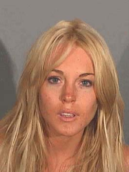 Lindsay Lohan is checking into the Betty Ford clinic. (Photo: Santa Monica Police Department)