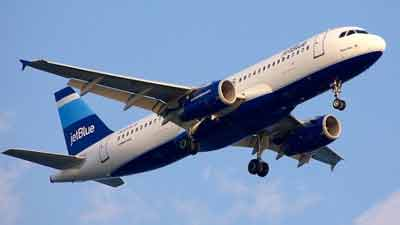 Jet Blue airplane. Photo credit: airnation.com