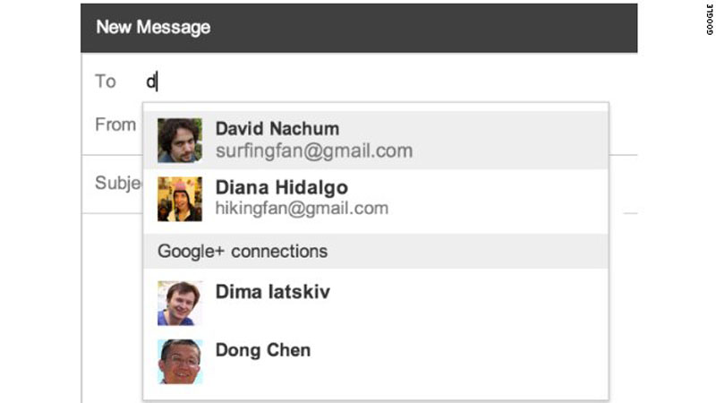 New feature lets Google+ users send you e-mail