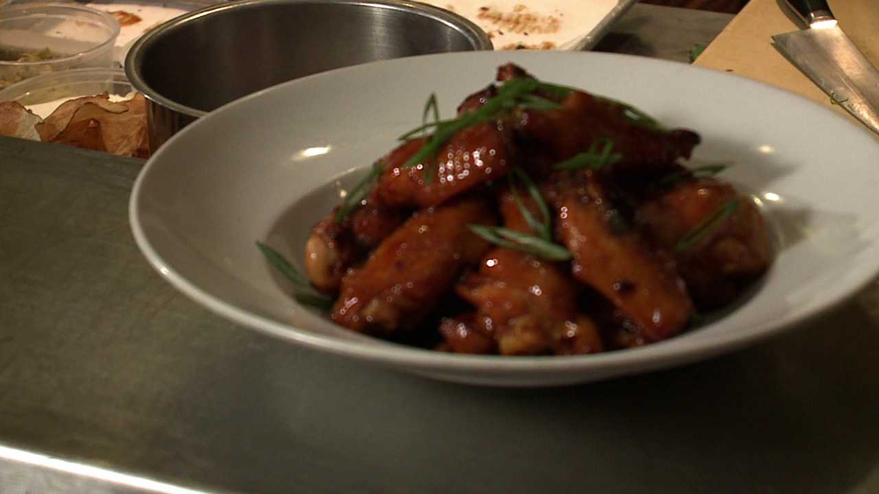 Game day dish: Chicken Wings. Recipe by Chef Jennifer Jasinski