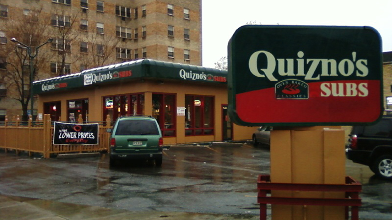 First Quizno's sub shop at 13th and Grant in Denver. Photo: Xnatedawgx, via Wikimedia Commons