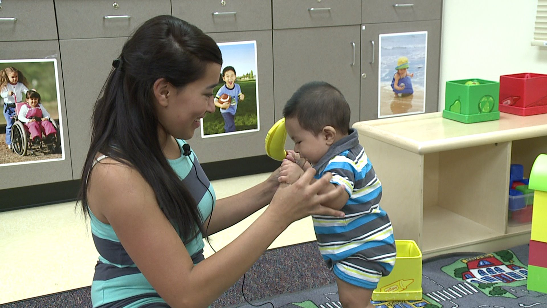Daycare center opens for teen parents in Aurora Public Schools
