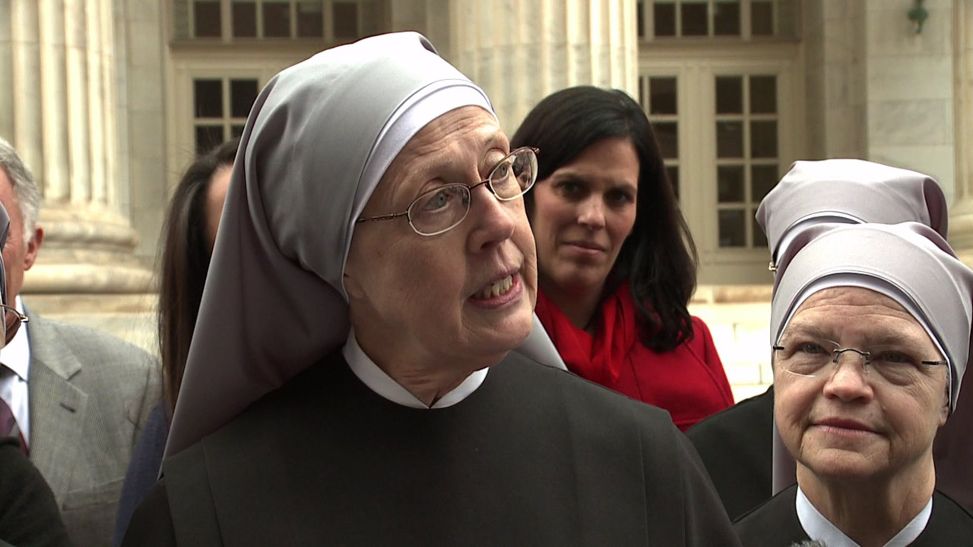 Nuns from the Little Sisters of the Poor in Denver