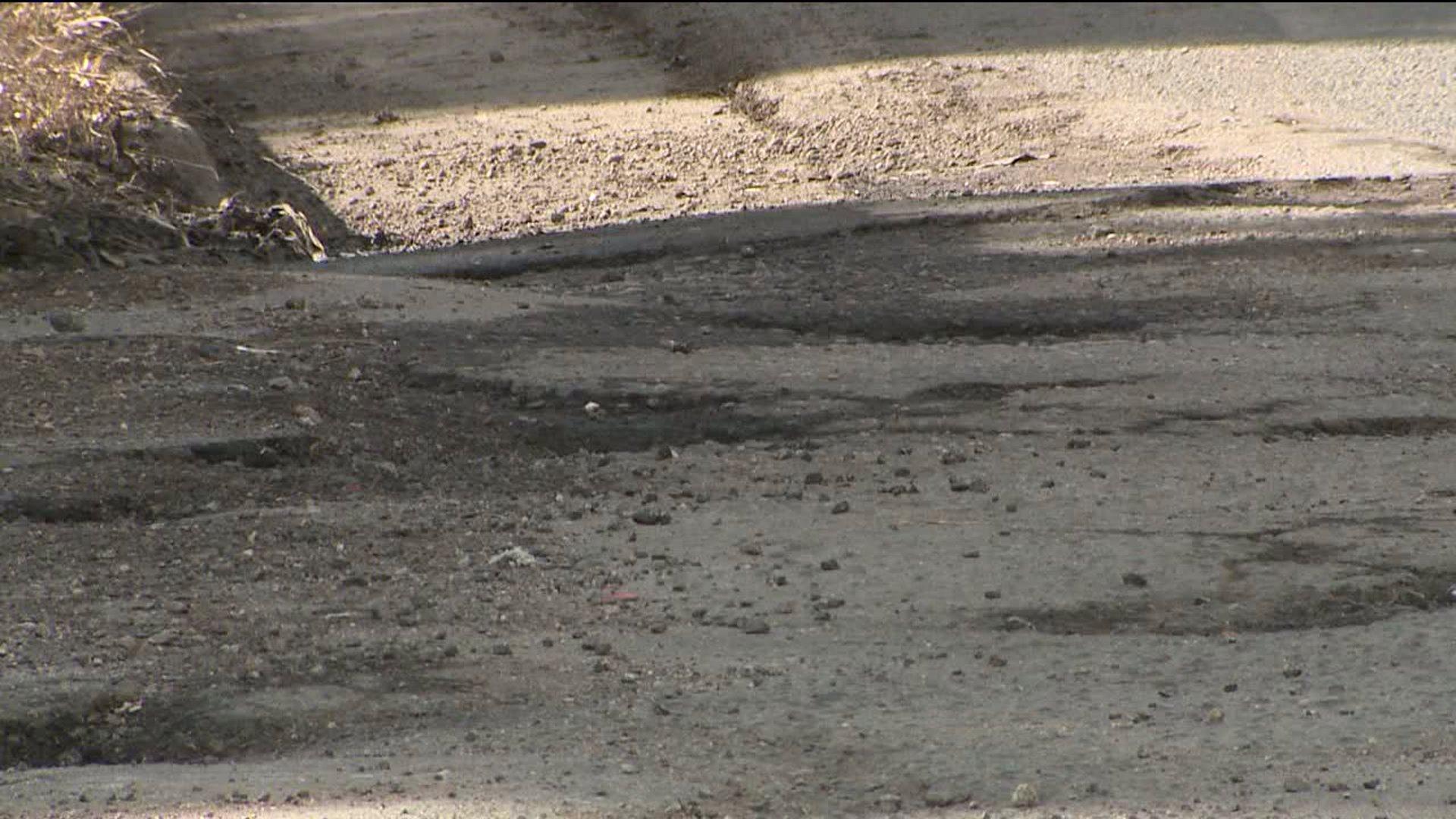 Potholes in metro Denver
