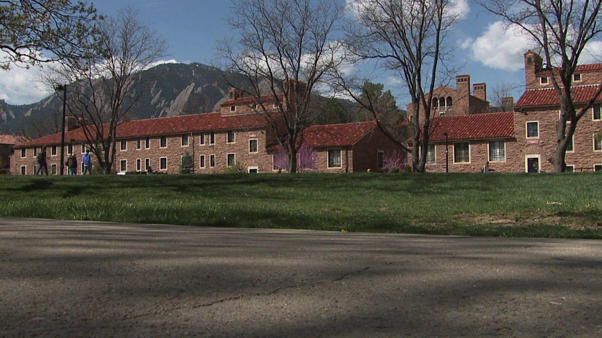 University of Colorado campus in Boulder