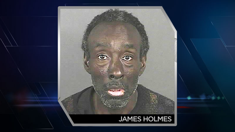 James Holmes, arrested for attempt sexual assault on Auraria Campus.