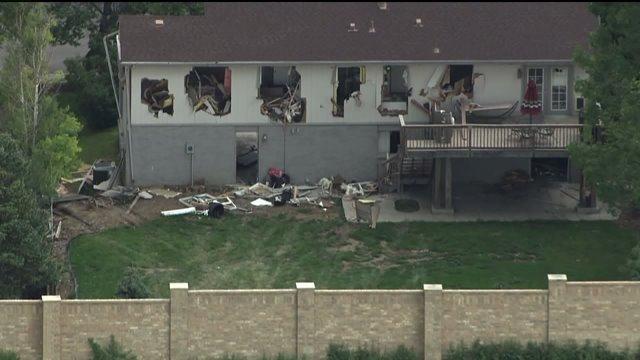 Home destroyed in Greenwood Village standoff