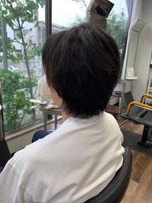 横浜大倉山美容院ツイストパーマ