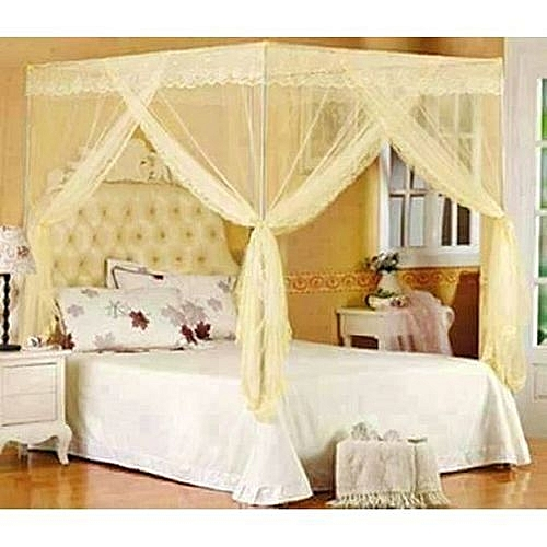 Buy Cozy Collections Mosquito Net With Metallic Stand