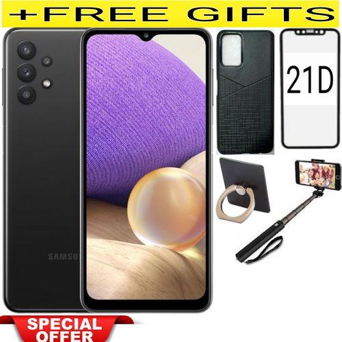 "Galaxy A52, 6.5""-(6G/128GB)-64MP-DUALSIM-BLACK + FREE FLASHGIFTS"