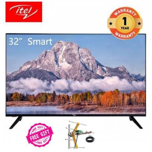 "I321,32"" Frameless Design Smart OS 9.0 LED TV + Free Aerial"