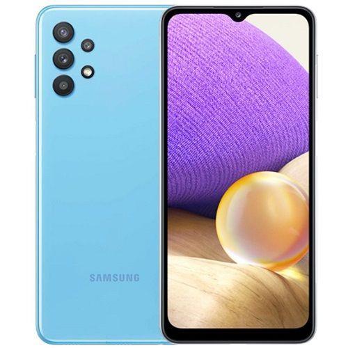 """Galaxy A32, 6.4"""", 128GB + 6GB RAM (Dual SIM), 5000mAh, Awesome Blue"""