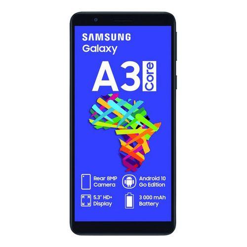 Galaxy,A3 Core, 5.0'' 1 GB + 16 GB (Dual Sim), - Black