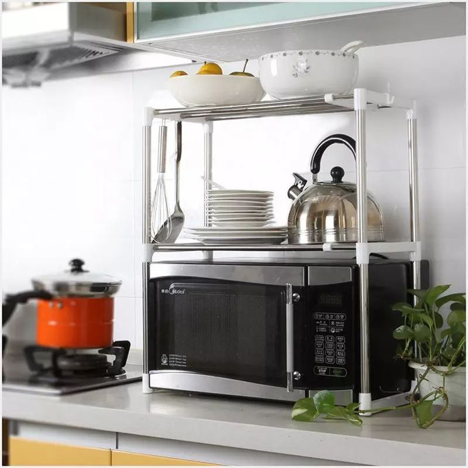 expandable microwave stand
