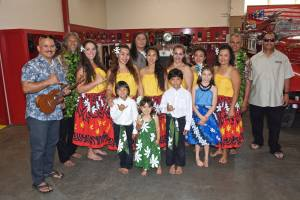 keahi hawaiian music luau hula dancers firehouse museum san diego