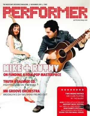 Performer Magazine November 2010
