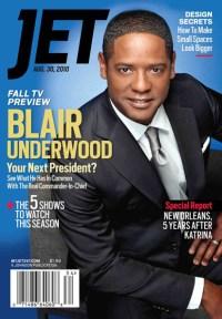 Blair Underwood on the cover of JET Magazine