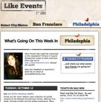 Like Events Screenshot