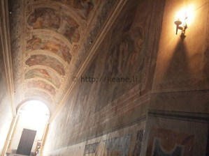 Next to the Scala Sancta (Holy Stairs)