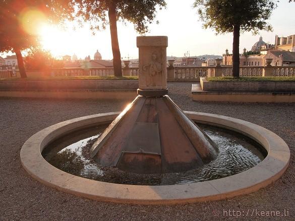 Secret Garden Area by the Musei Capitolini