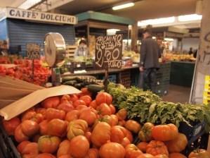 Tomatoes in Mercato Testaccio