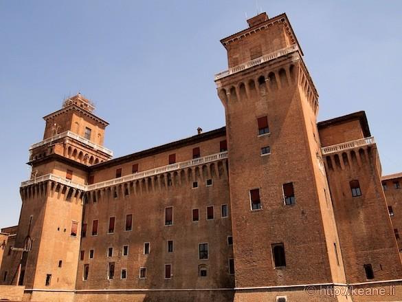 Palio di Ferrara - Este Castle