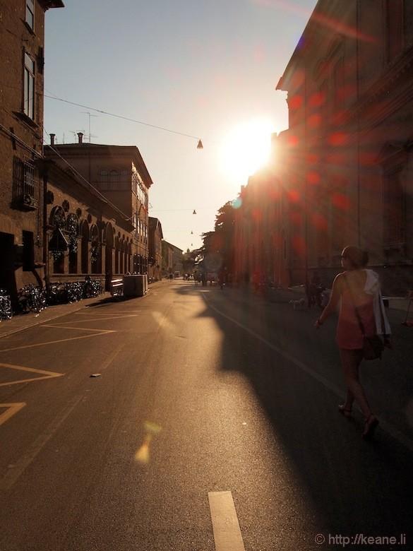 Palio di Ferrara - Sunset