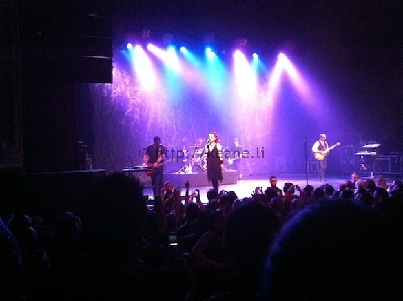 Garbage at the Warfield Theatre, Oct. 1 2012