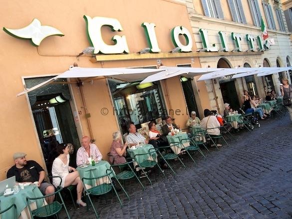 Giolitti - Gelato in Rome's Centro Storico