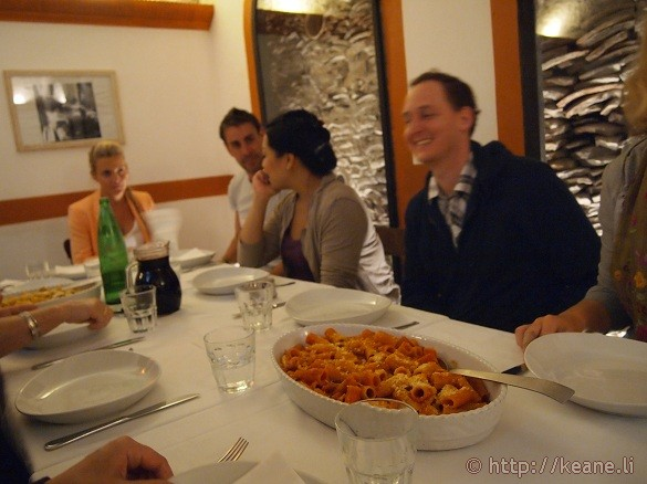 Eating Italy Food Tours - Lunch of pasta and wine at Flavio al Velavevodetto