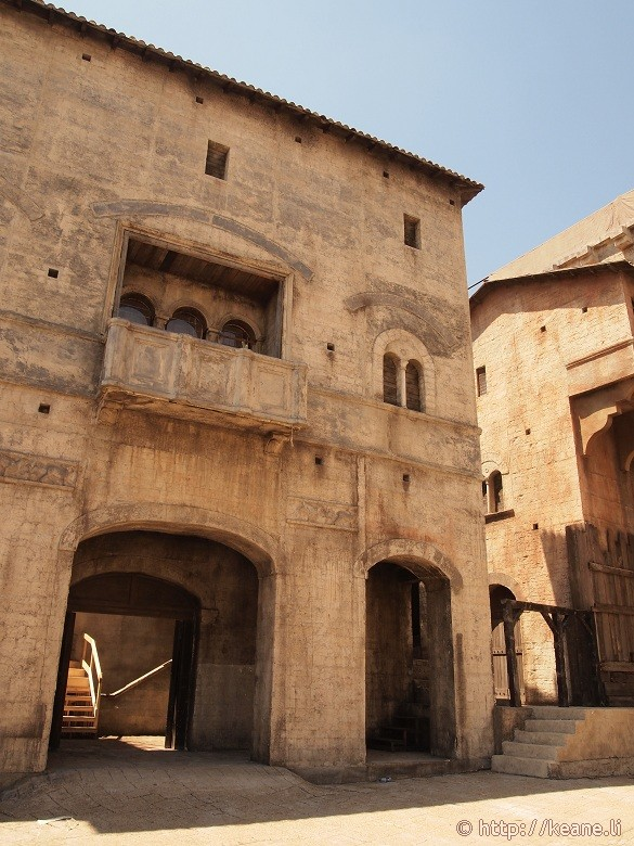 Cinecittà - The famous balcony from 'Romeo and Juliet'