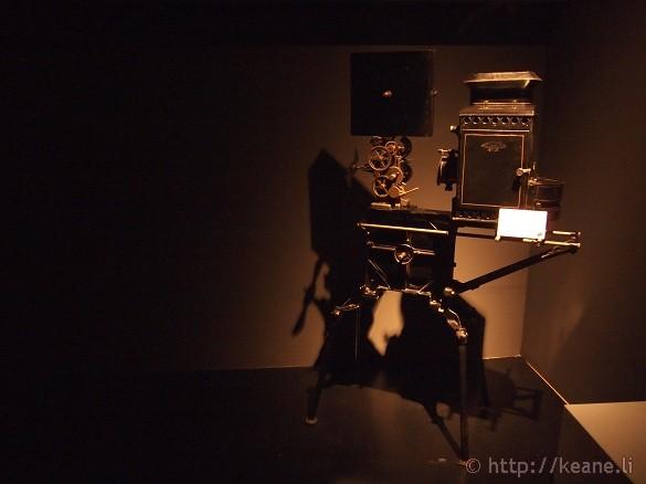 Cinecittà - Vintage movie camera
