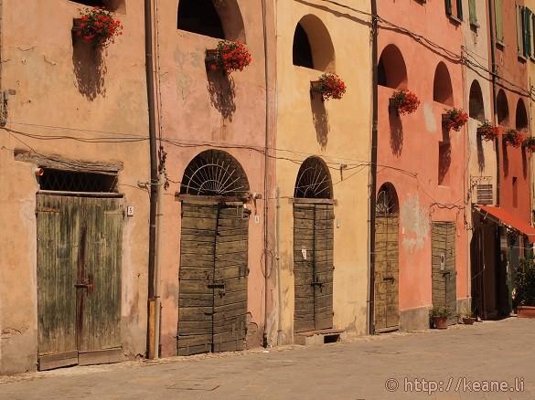 Colorful houses of Brisighella