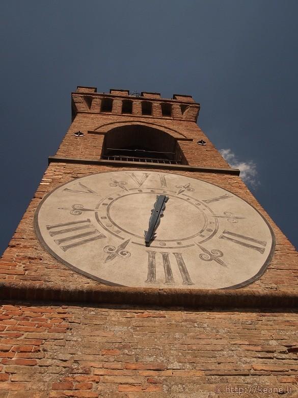 The Torre dell'Orologio in Brisighella