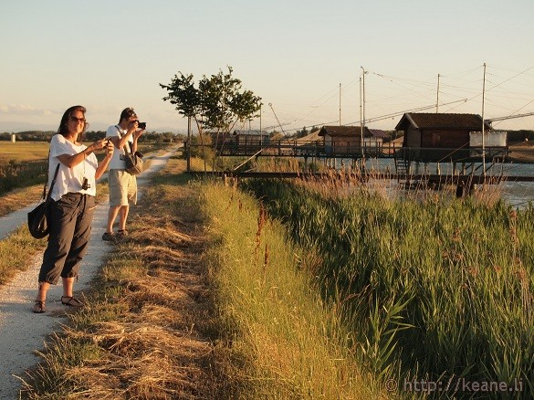 BlogVille at Work - Foce Bevano in the Parco del Delta del Po in Savio, Emilia-Romagna