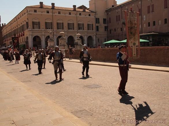 Palio di Ferrara Parade