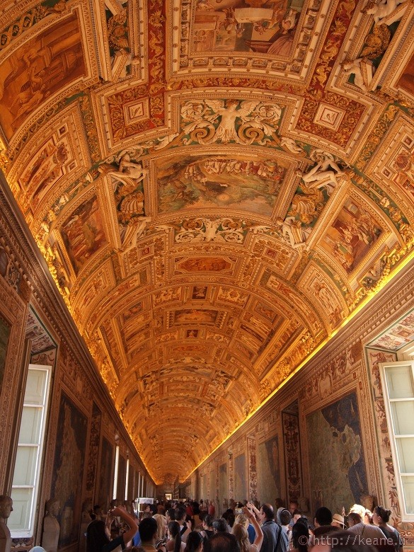 Vatican Museums - Hall of Maps / Sala delle Carte Geografiche