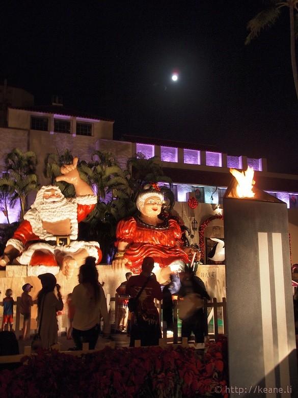 Honolulu City Lights - Christmas 2012 - Santa Claus