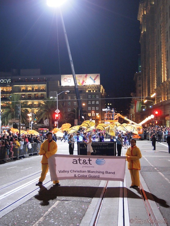 AT&T presents Valley Christian Marching Band & Color Guard