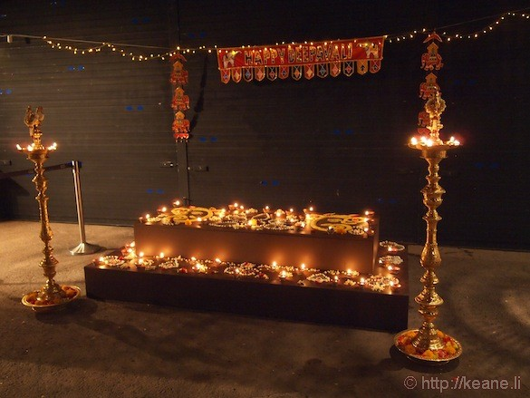 Singapore's Night Safari - Deepavali Shrine