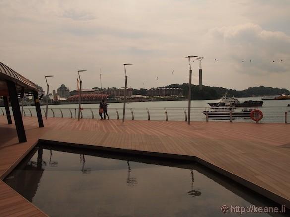 Sentosa Island in Singapore - Sentosa Boardwalk