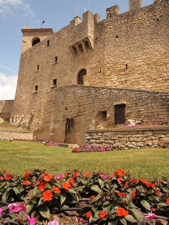 Garden and Castle Fortification in San Marino