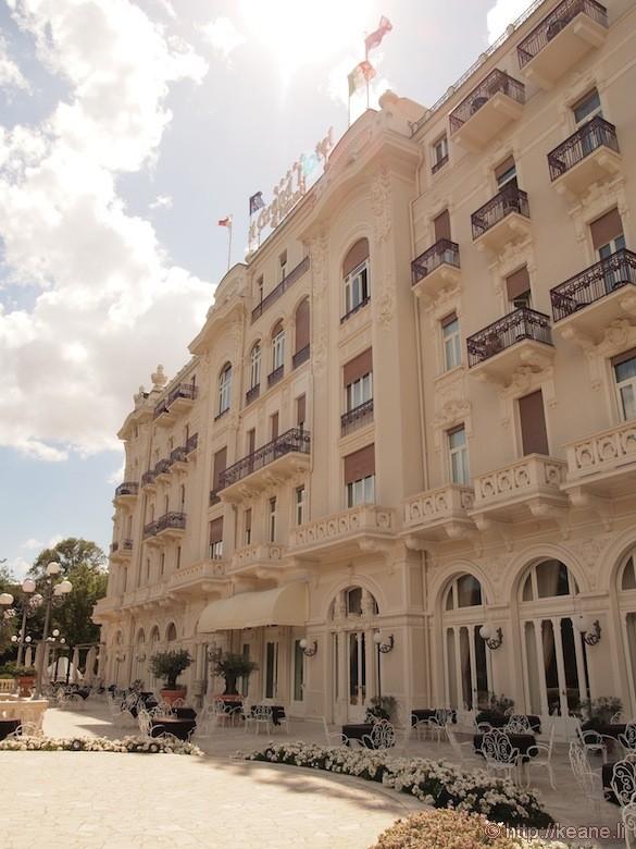 Grand Hotel Rimini - Front façade