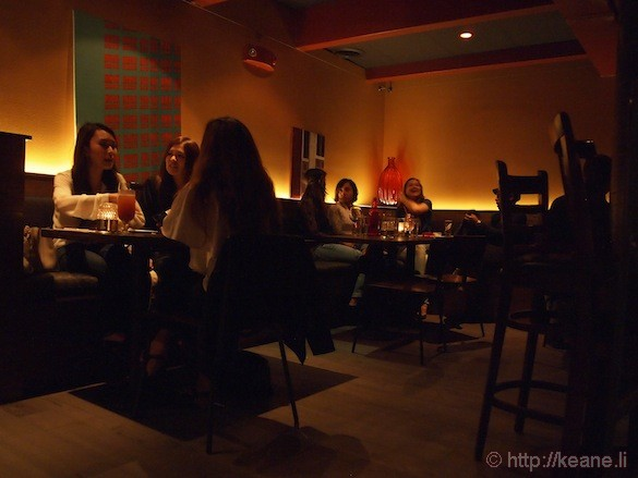 Grand Opening of Muka in San Francisco - Romantic Dining Room