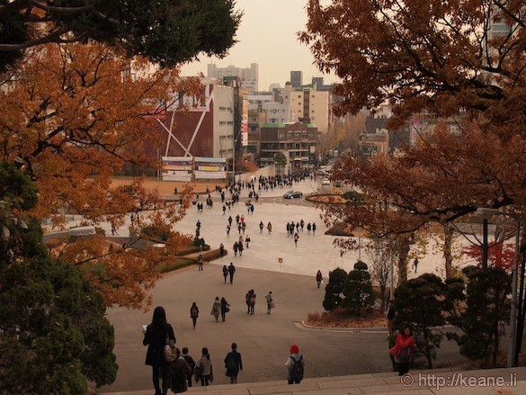 View from the Seoul Women's University