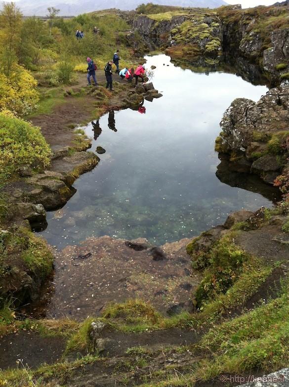 Þingvellir National Park in Iceland