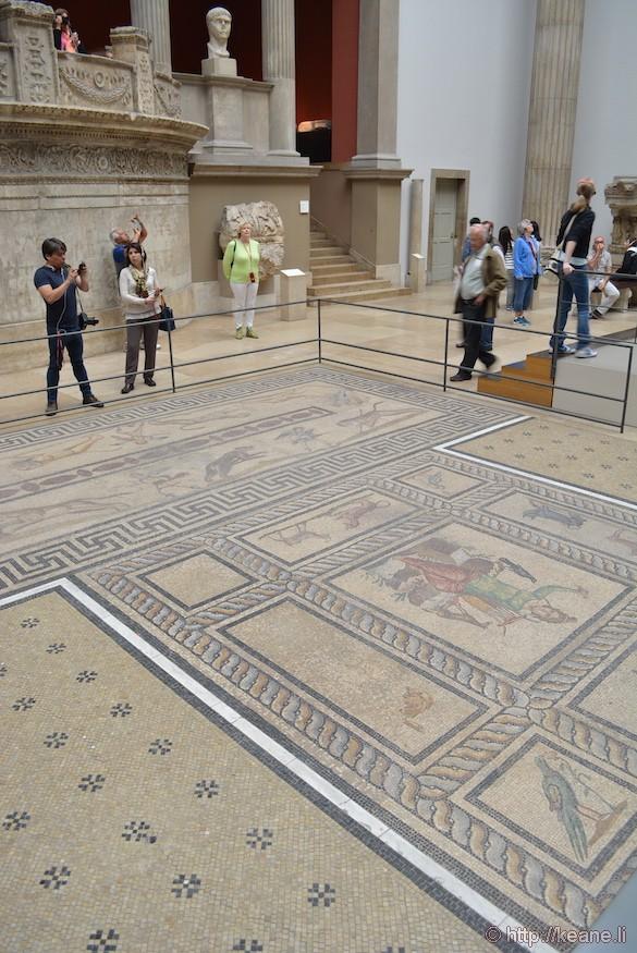 Floor tiles in Berlin's Pergamon Museum