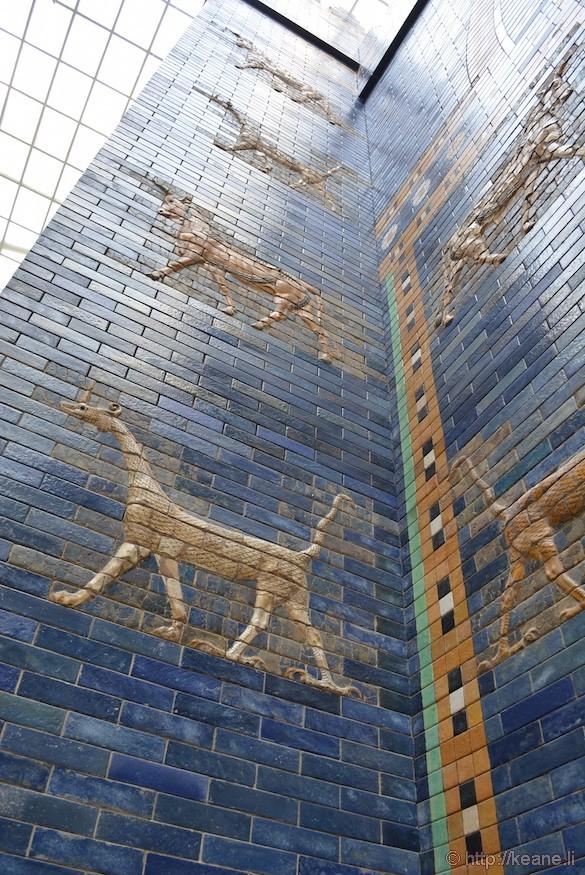 Ishtar Gate in Berlin's Pergamon Museum